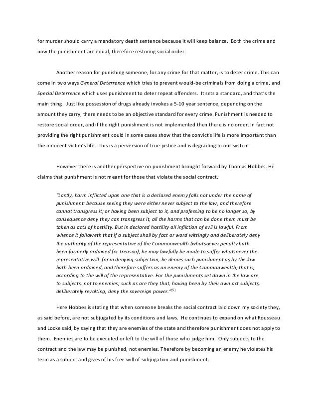 death penalty and deterrence essay Example academic essay: the death penalty it seems at best that the deterrence theory is yet to be proven the concept of 'retribution' is an interesting.
