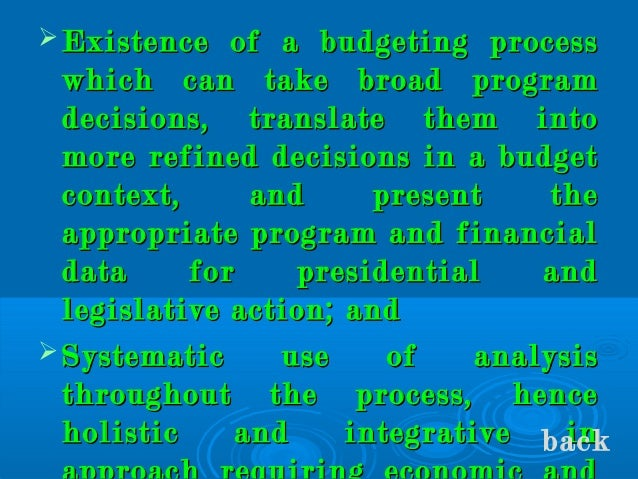 approaches and techniques in philippine budgeting Choosing a budget method related book complete mba for dummies, 2nd edition although the pendulum is clearly swinging in favor of the bottom up approach budget tricks of the trade budgets provide a kind of early warning system that.