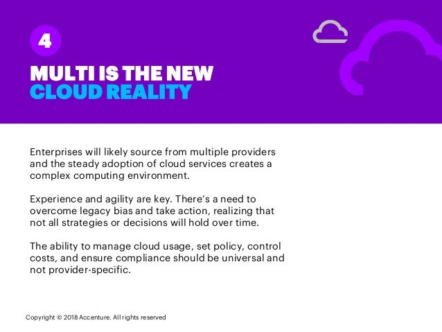 Enterprises will likely source from multiple providers and the steady adoption of cloud services creates a complex computi...