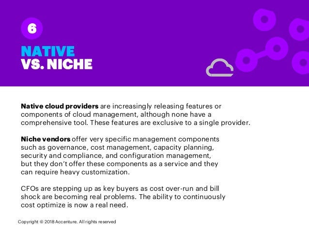 Native cloud providers are increasingly releasing features or components of cloud management, although none have a compreh...