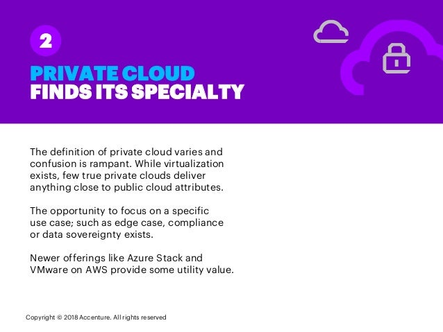 PRIVATE CLOUD FINDS ITS SPECIALTY The definition of private cloud varies and confusion is rampant. While virtualization ex...