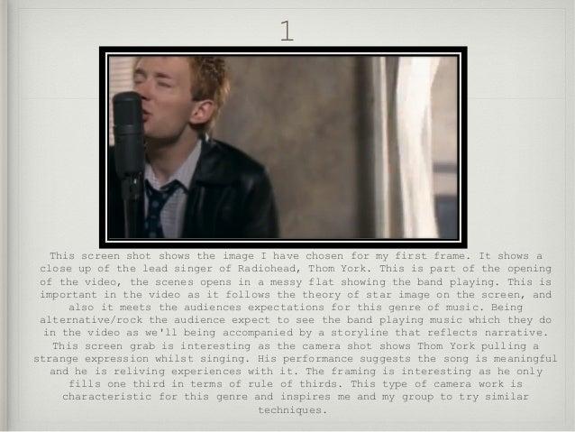9 frame analysis radiohead just solutioingenieria Choice Image