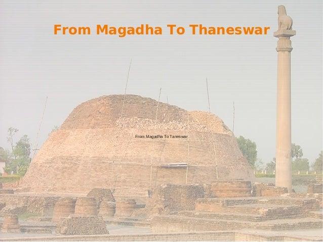 From Magadha To Thaneswar From Magadha To Taneswar