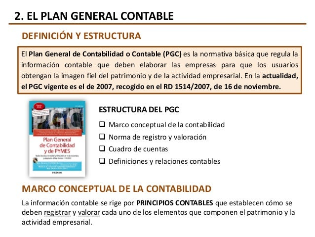 plan de cuentas contabilidad definicion uri