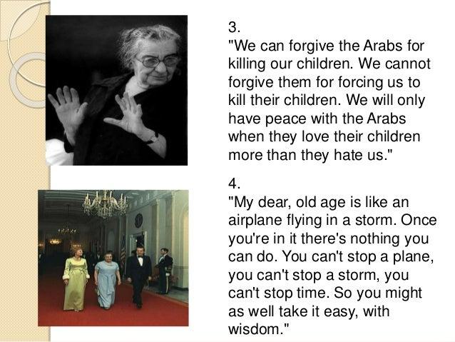 Golda Meir Quotes 5