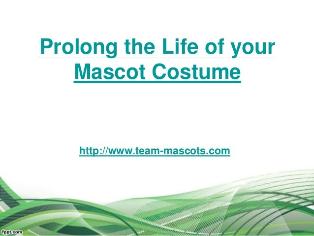 Prolong the Life of your Mascot Costume http://www.team-mascots.com