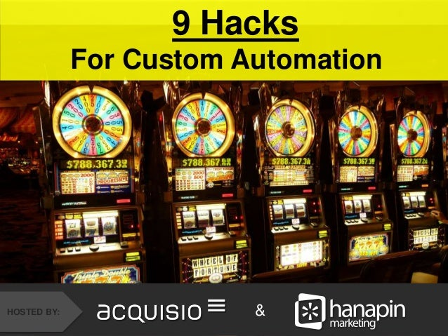 9 Hacks  For Custom Automation  How to Recover from the  Holidays Faster Than Your  Competition  #thinkppc  HOSTED BY:  HO...