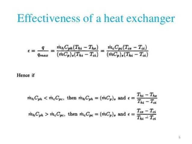 Heat Transfer Efficiency