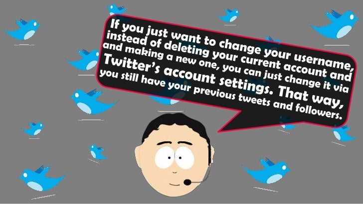 How to Deactivate Your Twitter Account