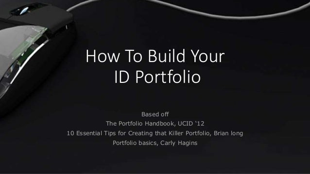 How to build your industrial design portfolio for How to make interior designer portfolio