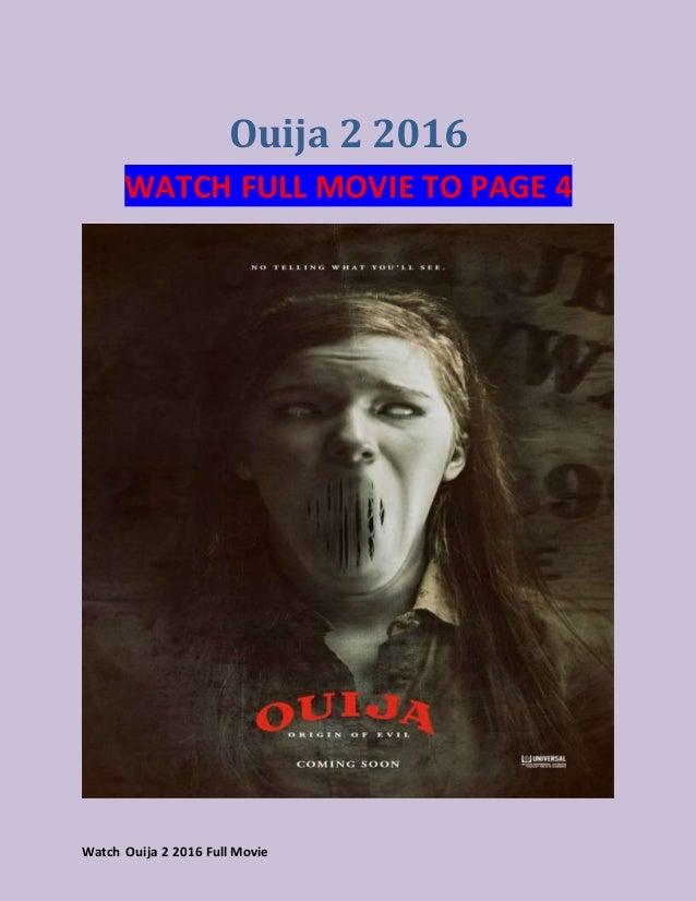Ouija 2 Streamcloud