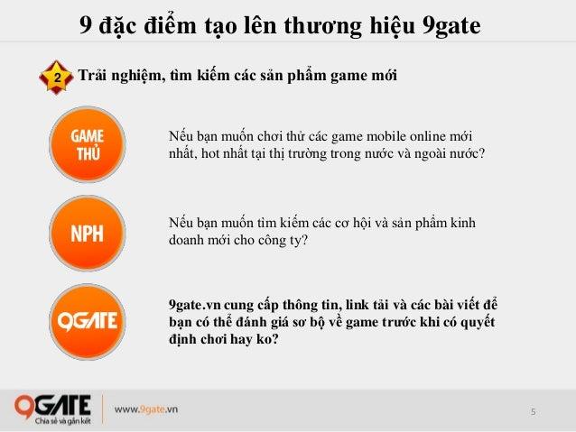 9gate.vn - Trang tin tích hợp cổng game mobile online đầu tiên tại Việt Nam