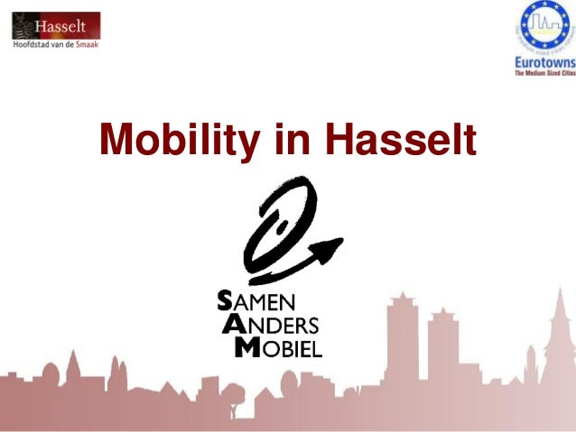Mobility in Hasselt