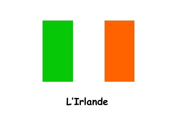 L'Irlande<br />