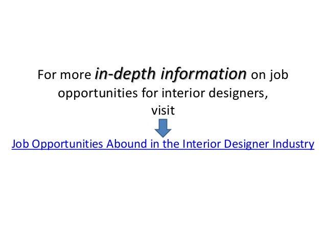 9 Jobs You Can Do As An Interior Designer
