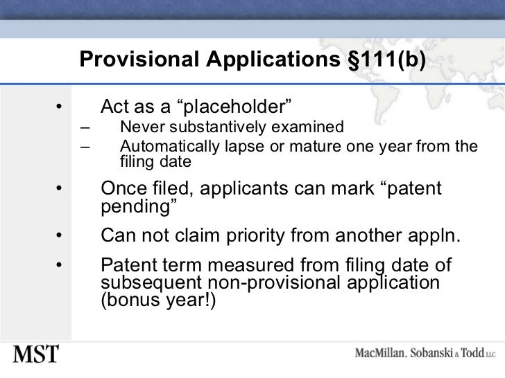 us provisional patent application requirements