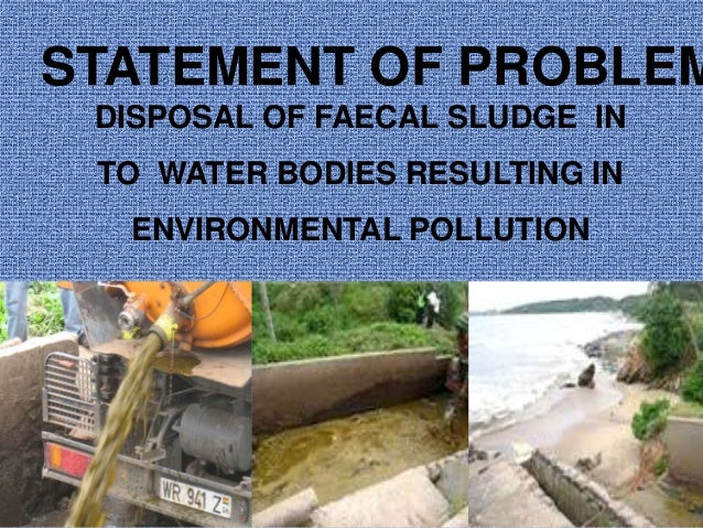 Waste Stabilisation pond design
