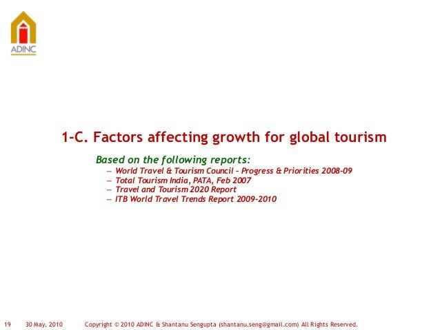 factors affecting travel to long haul destinations report essay Seasonality in the tourism industry impacts and strategies  flow diagram of the structure and content of this report  some destinations at certain.