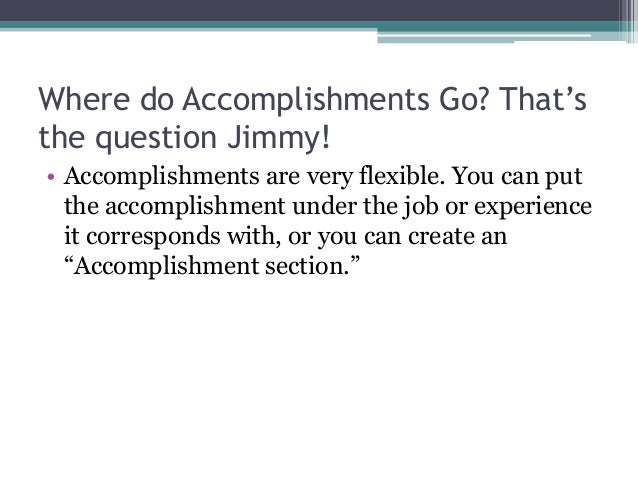 beautiful what to put under achievements on a resume contemporary