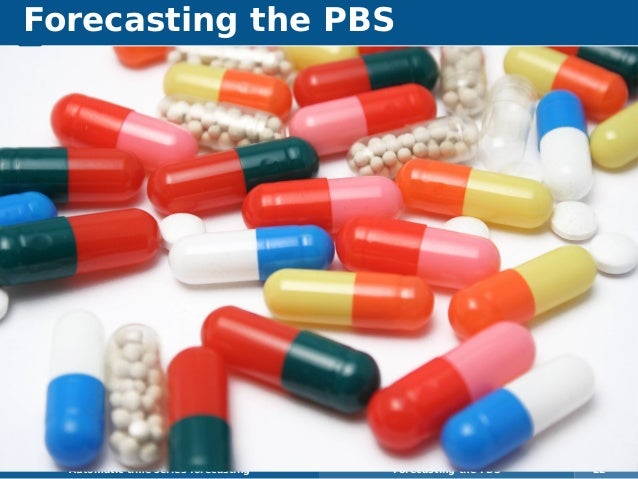 Forecasting the PBS Automatic time series forecasting Forecasting the PBS 22