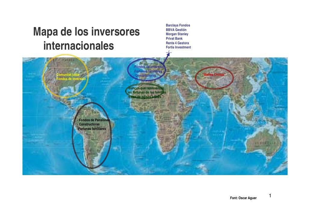 Barclays Fondos  Mapa de los inversores                                                BBVA Gestión                       ...