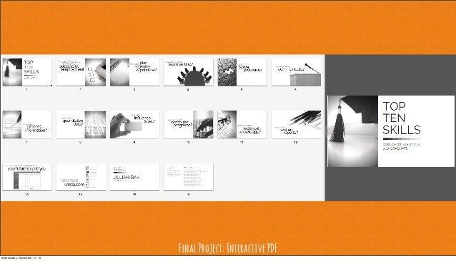 FinalProject:InteractivePDF Wednesday, November 11, 15