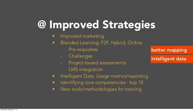 @Princeton • Improved marketing • Blended Learning: F2F, Hybrid, Online - Pre-requisites - Challenges - Project-based asse...