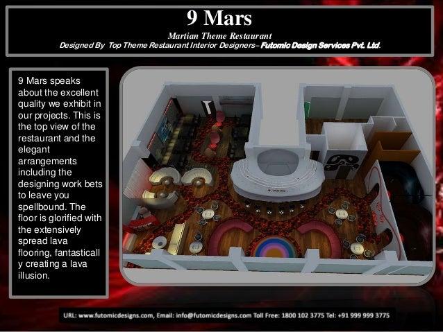 9 Mars Martian Theme Restaurant Designed By Top Theme Restaurant Interior Designers– Futomic Design Services Pvt. Ltd.  9 ...