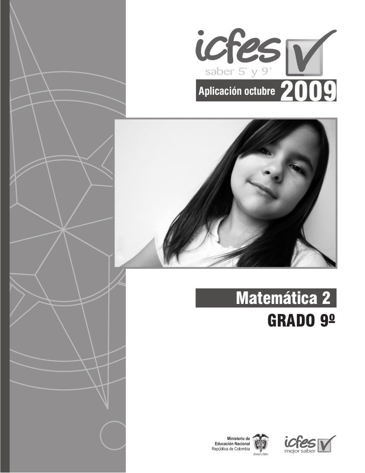 Aplicación octubre                     2009        Matemática 2            GRADO 9º