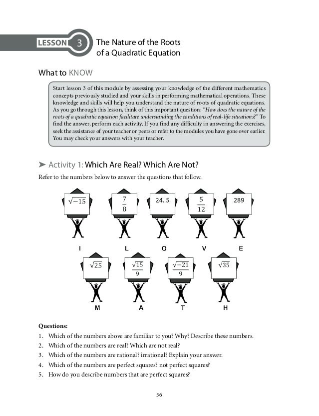 math quadratic essay Welcome to ixl's year 10 maths page practise maths online with unlimited questions in more than 200 year 10 maths skills.
