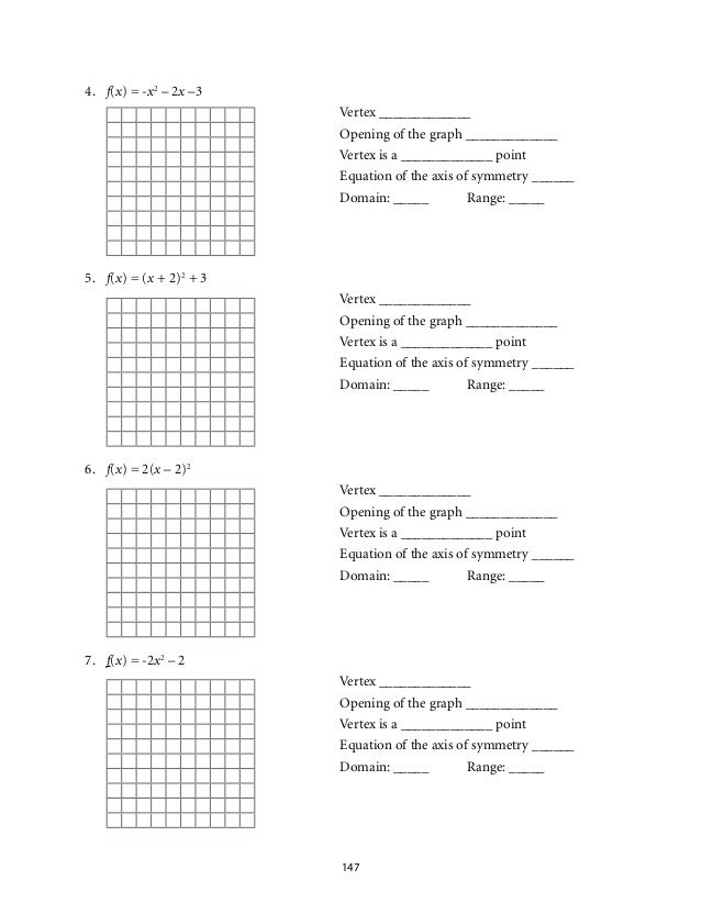 graphing quadratics in standard form worksheet worksheets releaseboard free printable. Black Bedroom Furniture Sets. Home Design Ideas