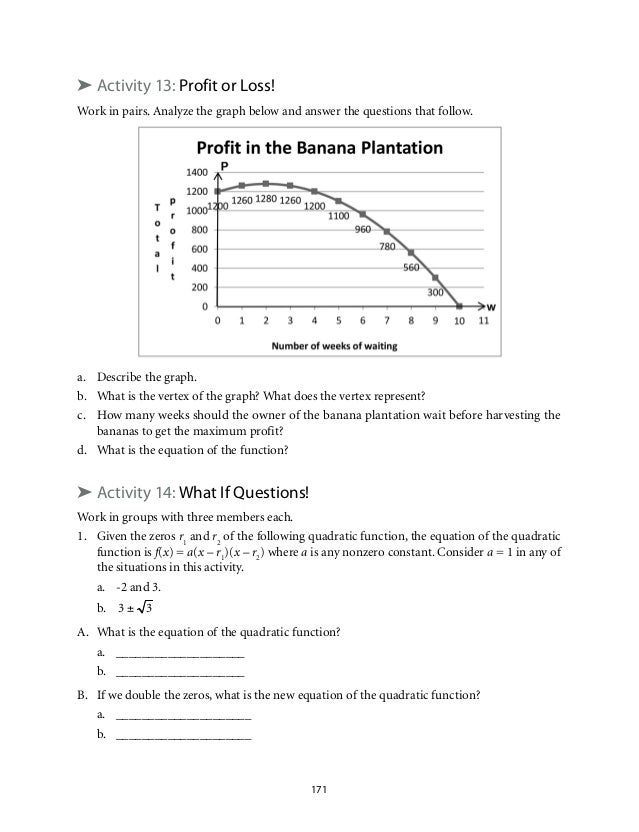 writing a quadratic equation in standard form given the roots