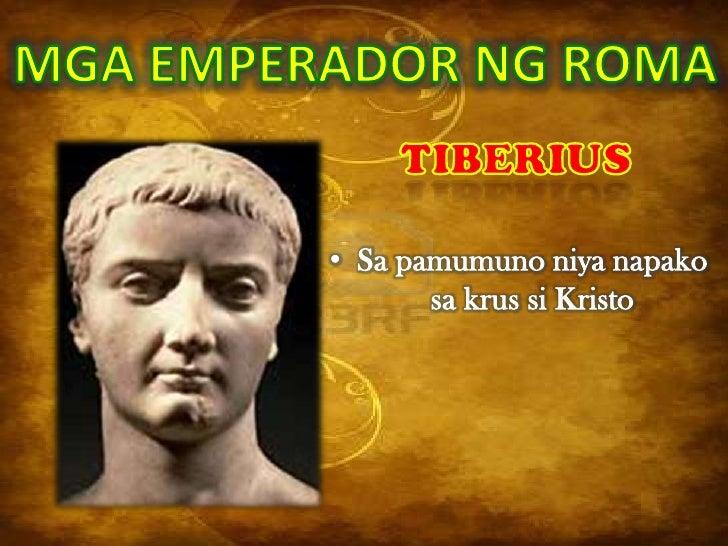 • Ginawa niyang konsul ang       kanyang kabayo• Pinatay ng mga Praetorian           Guards
