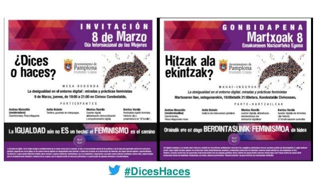 #DicesHaces
