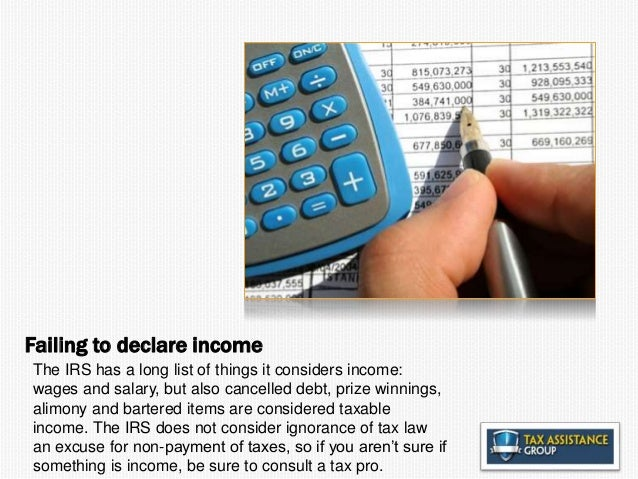 Nine Mistakes to avoid in Taxes