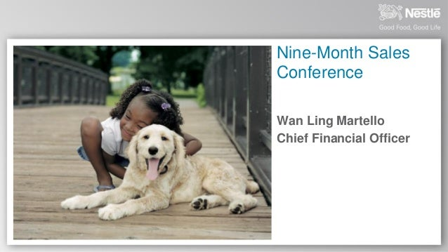 Nine-Month Sales Conference Wan Ling Martello Chief Financial Officer