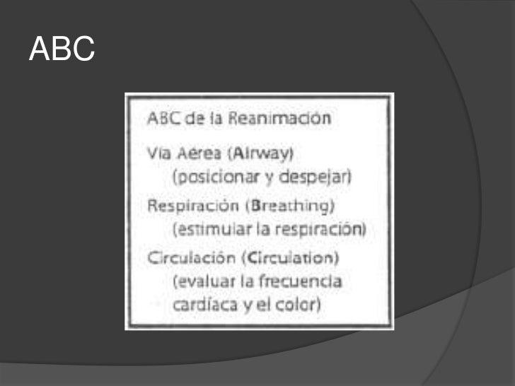 Victor Montez Pesantes</li></li></ul><li>REANIMACIÓN<br /> NEONATAL<br />Principios y Pasos Iniciales<br />