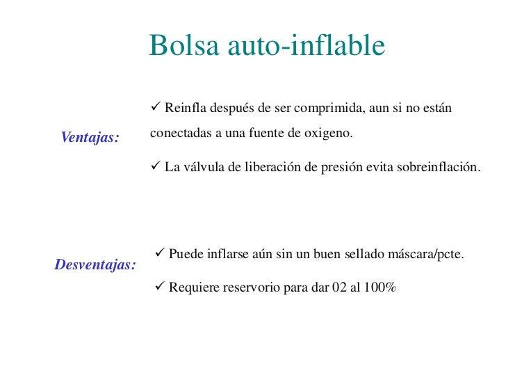 Bolsas con uso de reservorio<br />Con reservorio de  oxígeno<br />Reservorio de oxígeno<br />Bolsa auto-inflable con reser...