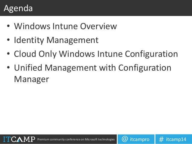 Managing Mobile Devices with Windows Intune and SCCM 2012 (Adrian Sto…