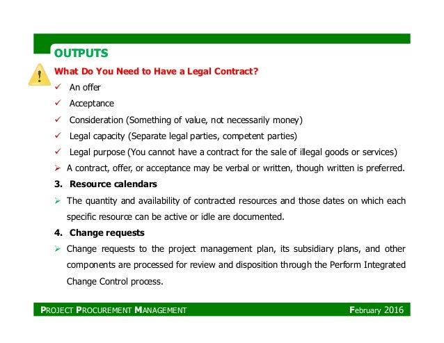 Project Procurement Management 642 Assignment 3