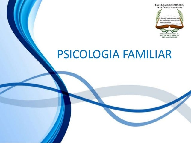 PSICOLOGIA FAMILIAR