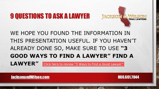 how to find out if a lawyer is good