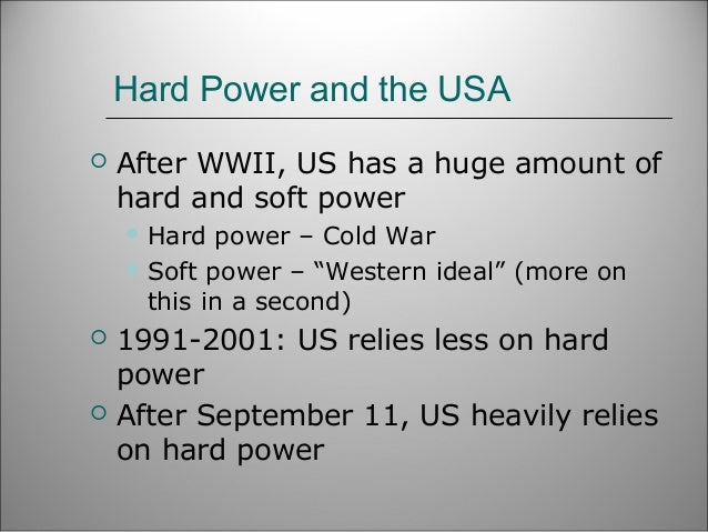 soft and hard power Power is one of the more contestable concepts in political theory in recent decades, scholars and commentators have chosen to distinguish between two kinds of power.