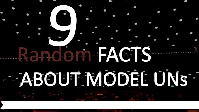 9 random facts about model united nations