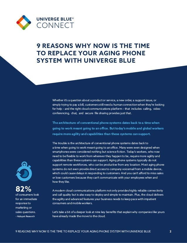 9 Reasons Why Now is the Time to Replace Your Aging Phone System Slide 2