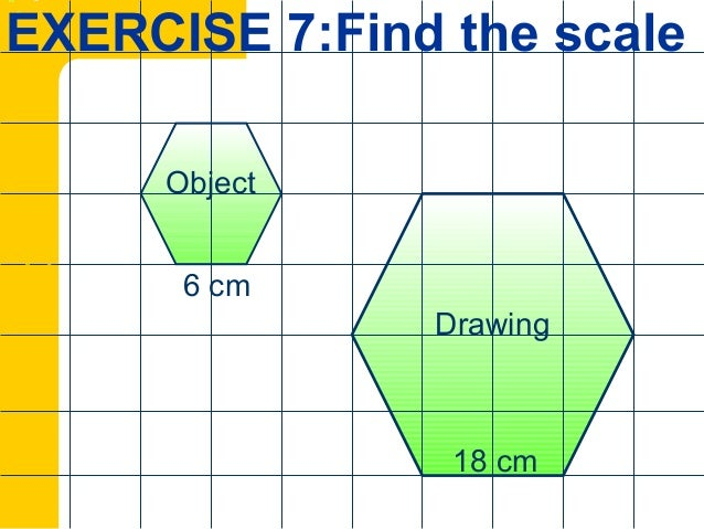 NOTE MATH FORM 3 - 9 scale drawing
