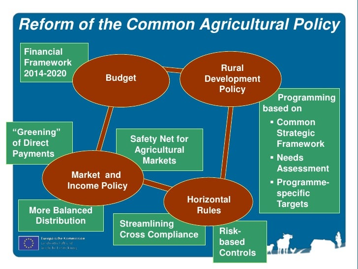 A Brief History of European Agricultural Policy