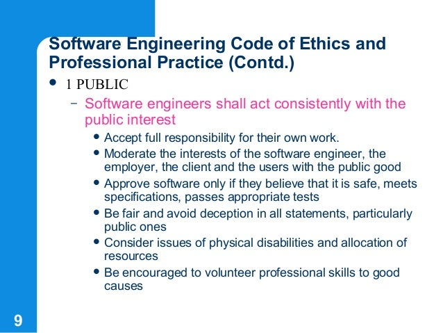 28+ Software Engineering Code Of Ethics And Professional Practice Summary Images