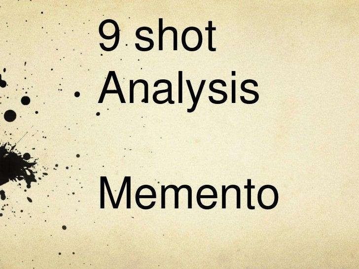 9 shotAnalysisMemento