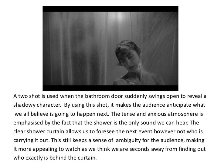 psycho shower scene analysis essay The shower scene from alfred hitchcock's psycho is a crucial scene in the plot of the film the scene itself shows the death of the main protagonist, marion.